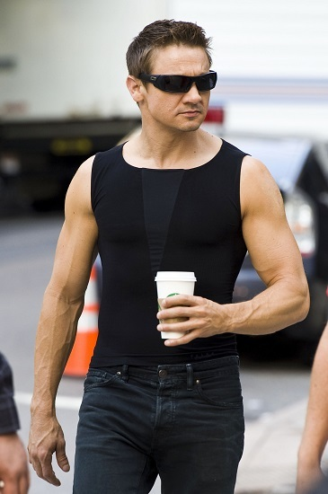 Jeremy renner more quot the avengers quot amp quot bourne legacy quot on set pictures